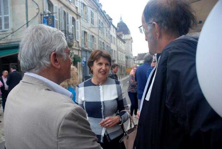 Annie Genevard, Secrétaire générale Les Républicains, Vice-Présidente de l'Assemblée nationale et des militants de Haute-Saône