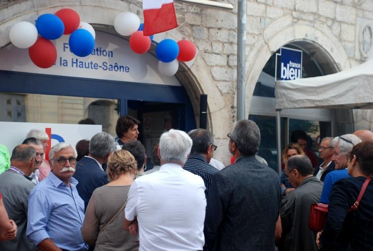 Inauguration Les Républicains, 1 place du palais à Vesoul