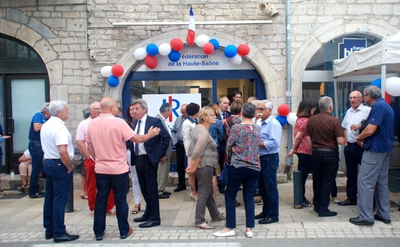 6 juin 2018 - Inauguration du siège de la Fédération des Républicains de la Haute-Saône à Vesoul