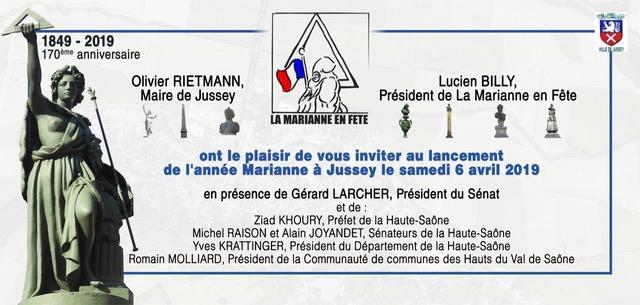 Venue de Gérard Larcher à Jussey